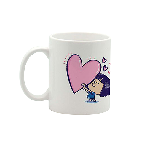 Girl Heart Mug Small