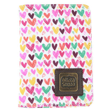 Hearts And Hearts Passport Cover - Alicia Souza