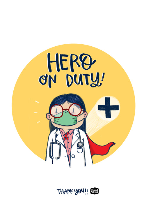 Hero On-duty Tag