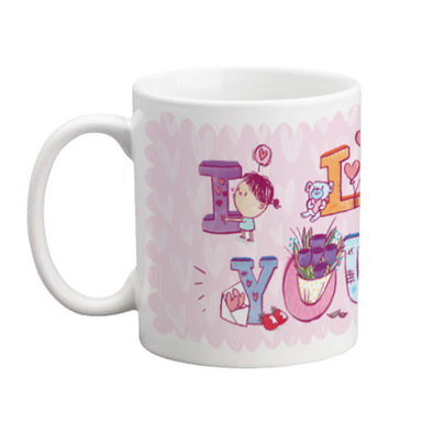 I Love You Mug - Alicia Souza
