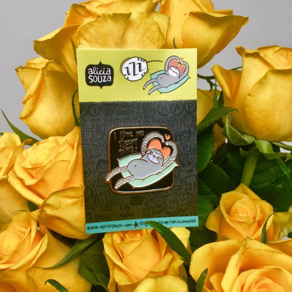 I Love Me Sleep Time Enamel Pin