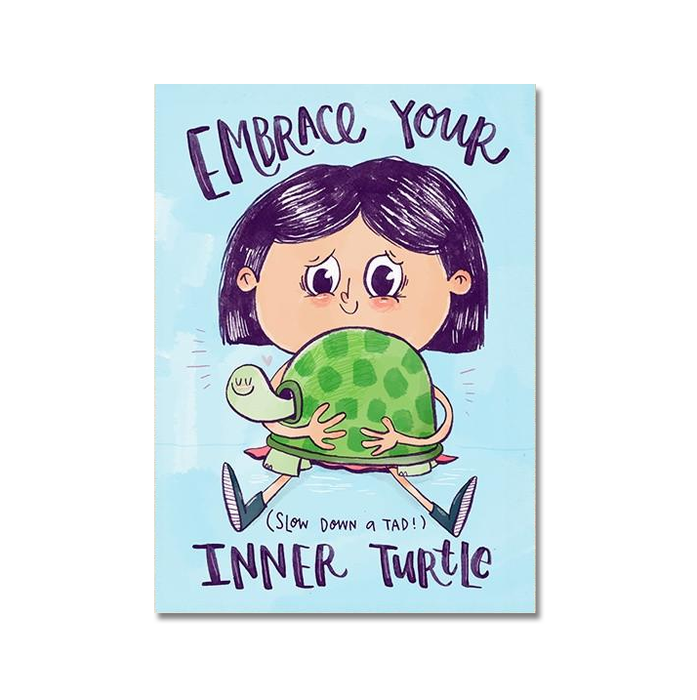Inner Turtle Postcard - SET OF 5 - Alicia Souza