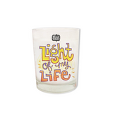 Light of My Life Shot Glass Candle