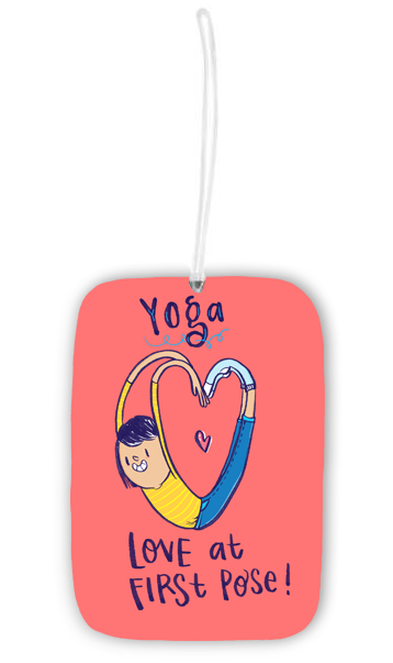 Yoga Luggage Tag - Alicia Souza