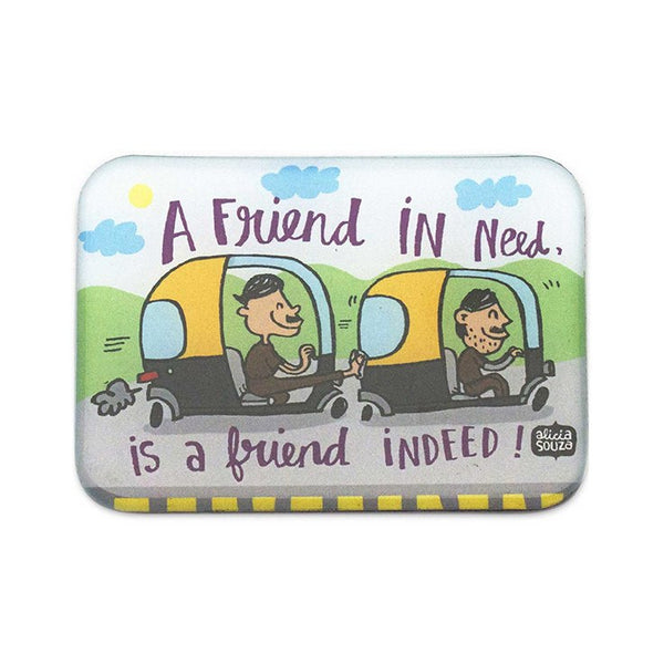 Magnet - Friend Indeed Magnet-Rectangle