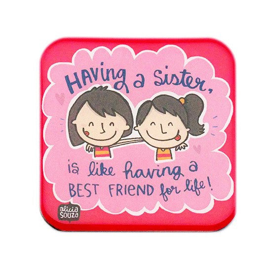 Magnet - Sisters Magnet Square