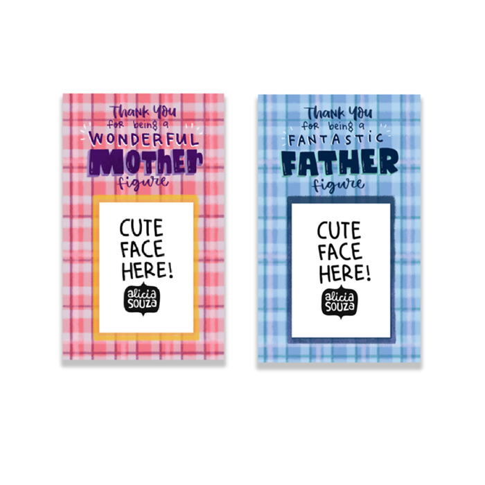 Mom And Dad Magnetic Frames Pack Of 2 Alicia Souza