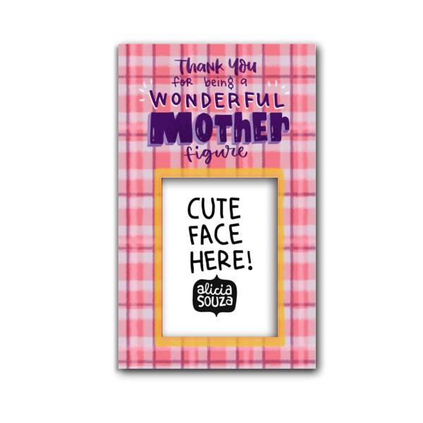 Wonderful Mother Magnetic Frame - Alicia Souza