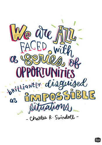 Opportunities Wall Art - Alicia Souza