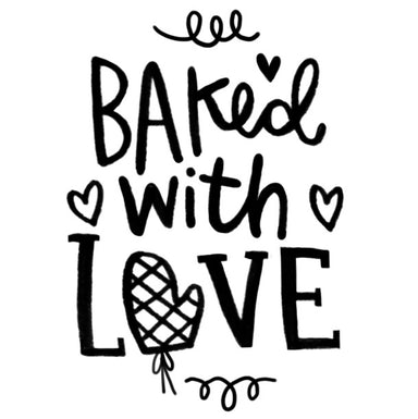Baked With Love Stamp - Alicia Souza