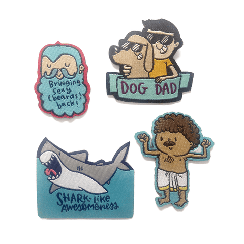 The Awesome Patch - SET OF 4