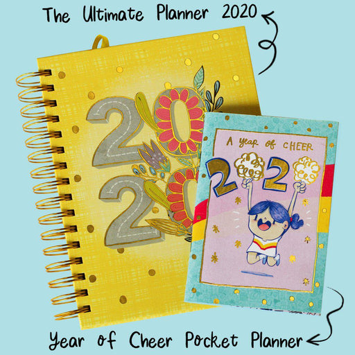PRE-ORDER : The Ultimate Planner 2020 (With FREE Year of Cheer Pocket Planner)-Planner-Alicia Souza-1-Alicia Souza