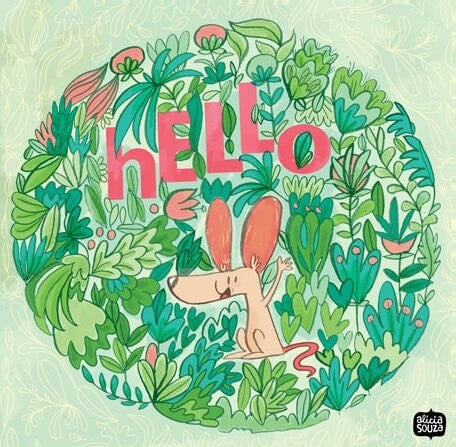 Prints - Hello Doggie Wall Art