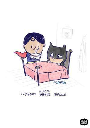 Prints - Superman & Batman Wall Art