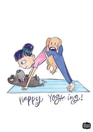 Yoga-ing Decal - Alicia Souza