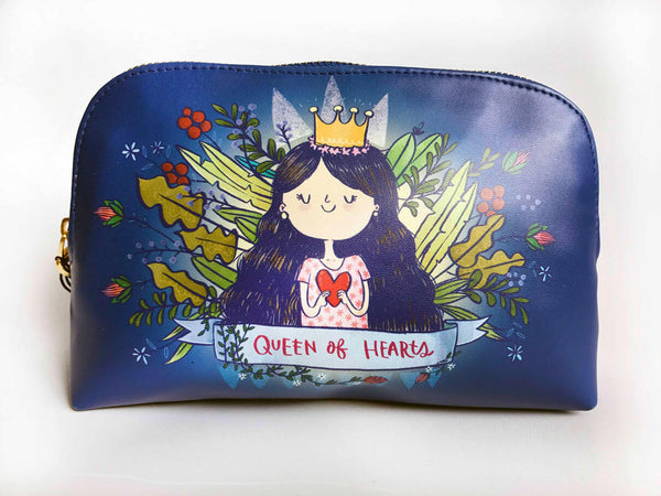Queen Of Hearts Pouch
