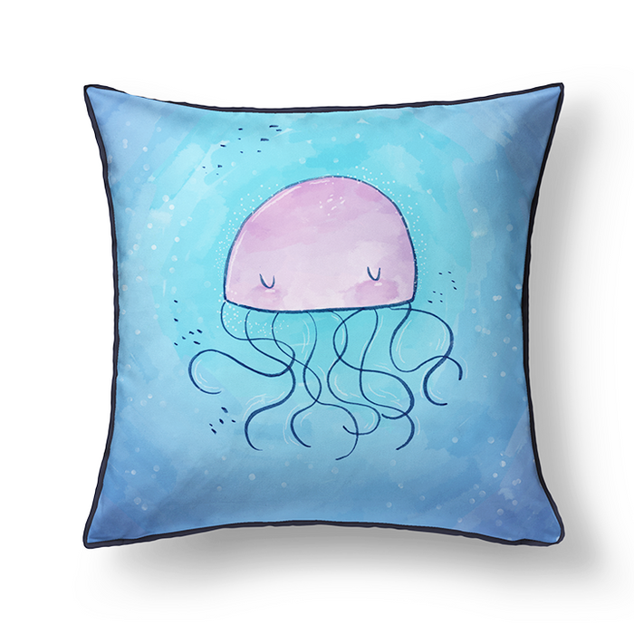 Seaworld Cushion Cover - Alicia Souza
