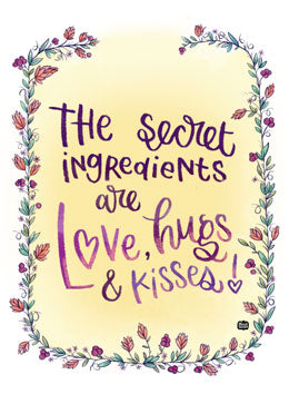 Secret Ingredients Decal - Alicia Souza