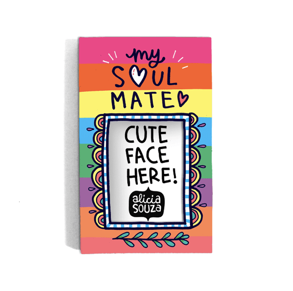 Soul Mate Refrigerator magnetic frame SMALL