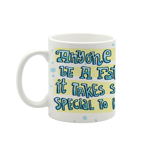 Super dad small mug