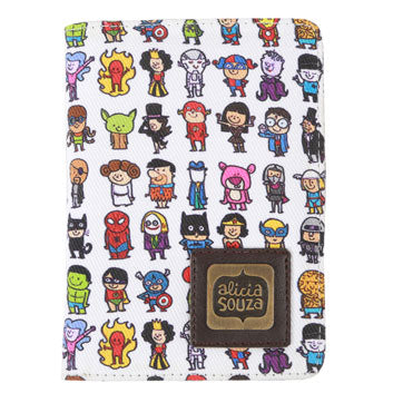Superhero Passport Cover
