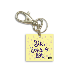 Sir Licks a Lot Dog Tag - Alicia Souza