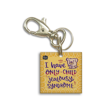 Only Child Dog Tag - Alicia Souza