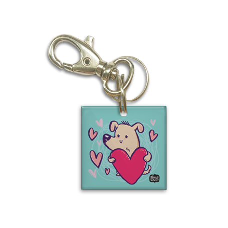 Heart Dog Tag - Alicia Souza