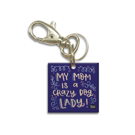 Dog Lady Dog Tag
