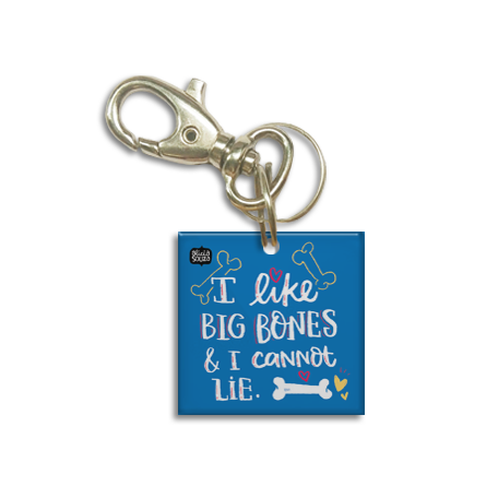 Big Bones Dog Tag - Alicia Souza