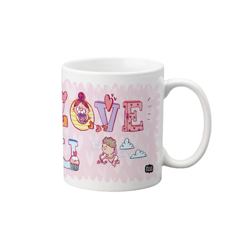 I Love You Mug Small
