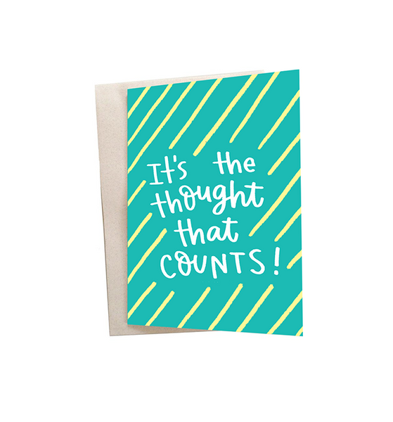 Thoughts Mini Greeting