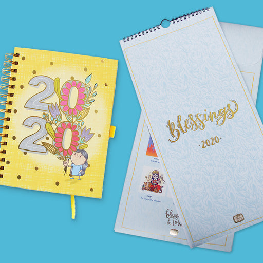 PRE ORDER : 2020 Planner And Wall Calendar Combo-Planner/Calendar Combo-Alicia Souza-1-Alicia Souza