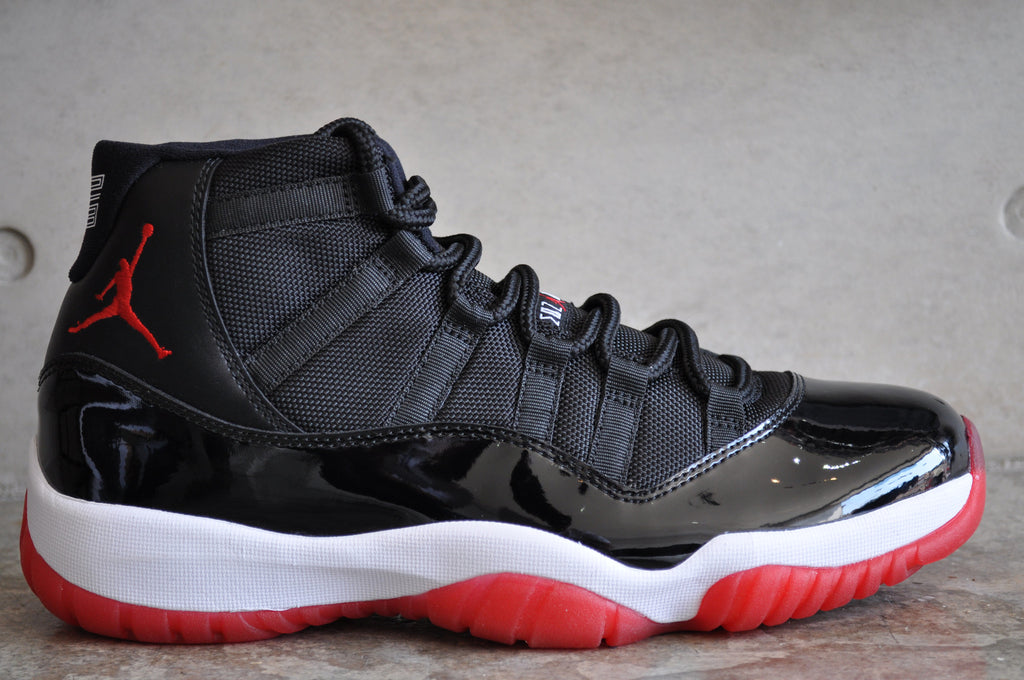 "Nike Air Jordan 11 Retro ""Bred"" 2012 - BLACK/VARSITY RED-WHITE"