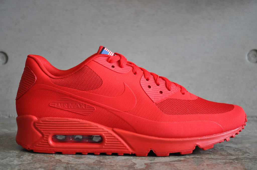 nike air max 90 hyperfuse independence day red buycraft