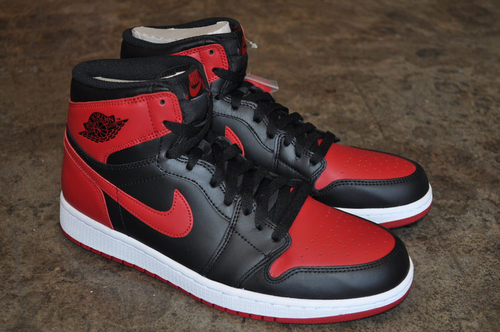 Nike Air Jordan 1 Retro High OG 'Bred' 2013 - Black/Varsity Red-White
