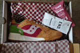 END x Saucony Shadow 5000 'Burger'- Light Brown/Red/Green