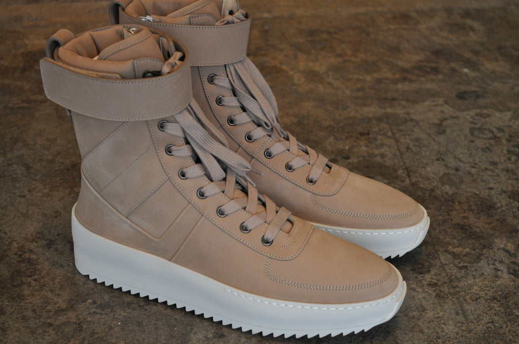 Fear Of God Military Sneaker Canapa Nubuck