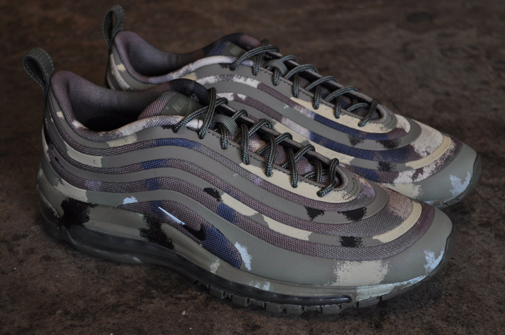 air max 97 camo dark khaki / golden tussah camo trainer