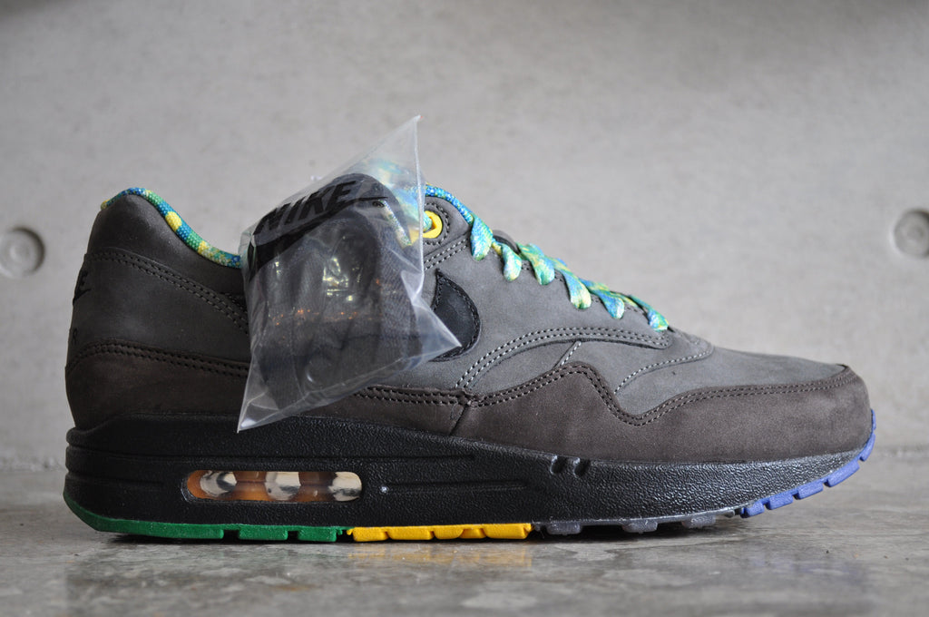 Nike Air Max 1 BHM Black History Month 2012 - Midnight Fog/Black