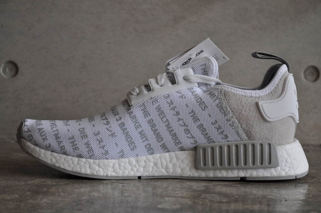 Adidas NMD R1 'The Brand With The Three Stripes' Whiteout
