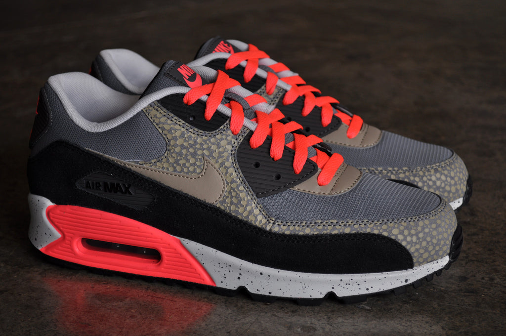 Nike Air Max 90 'Bamboo Safari' - Cool Grey/Bamboo-Black-Mdm Ash