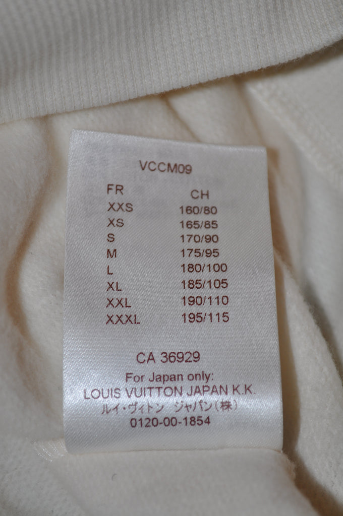 Louis Vuitton x Fragment Kimono Sweatshirt - White/Black