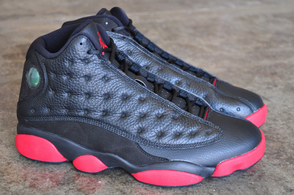 Nike Air Jordan 13 'Dirty Bred' - Black/Gym Red-Black