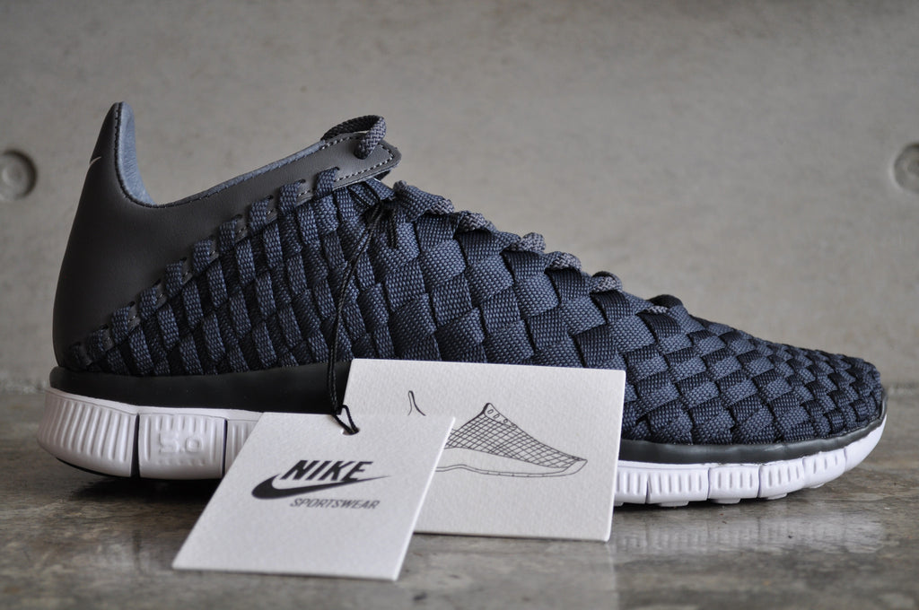 Nike Free Inneva Woven - Anthracite/Dark Grey/White