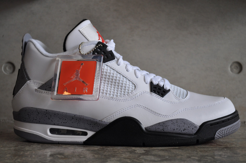Nike Air Jordan 4 'White Cement' 2012 - White/Black-Cement Grey