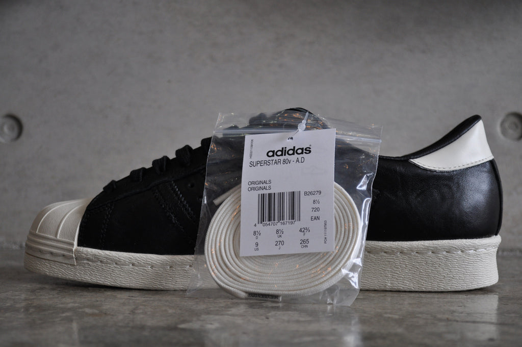 Adidas Superstar 80s Consortium 10th Anniversary A.D - Black/White