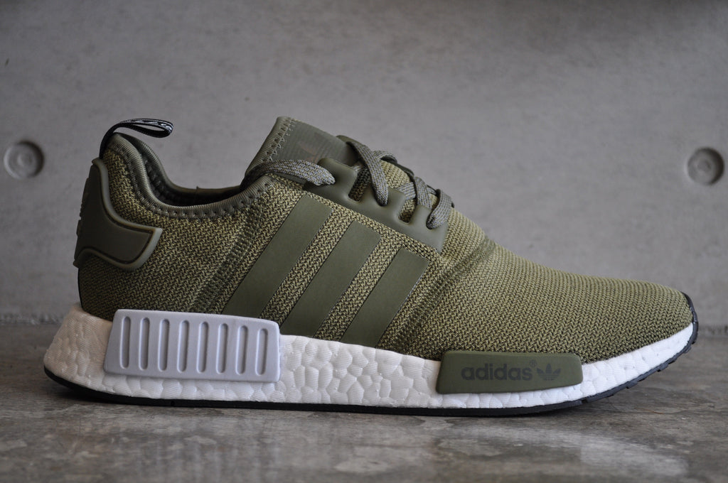 promo code 81c2a babf3 adidas nmd r1 white olive