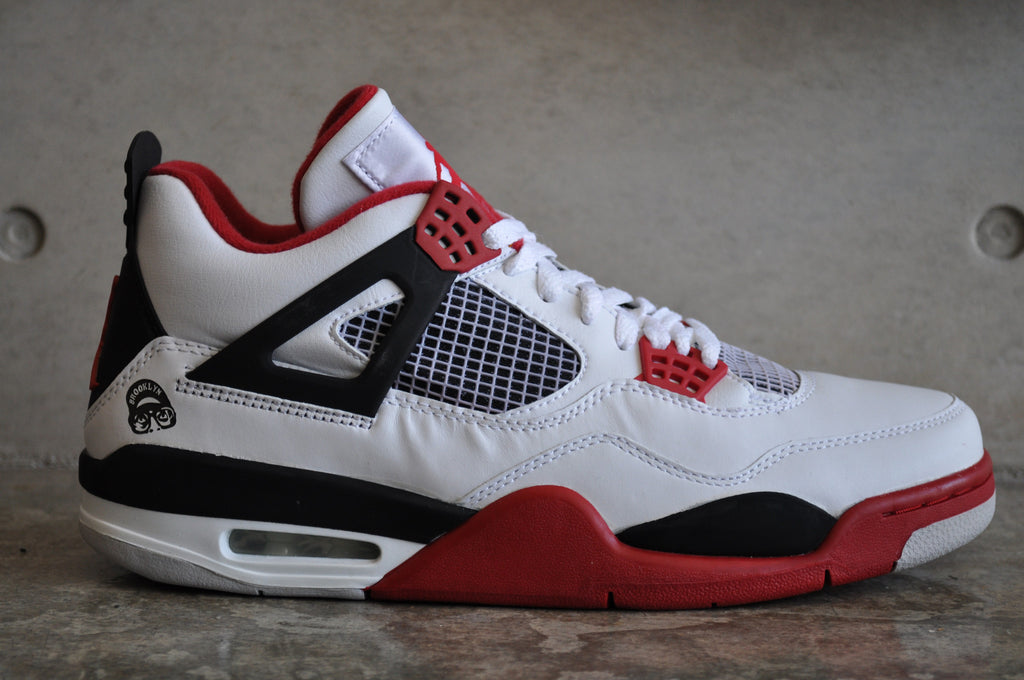 Nike Air Jordan 4 Retro 'Mars Blackmon' 2006 - White/Varsity Red-Black