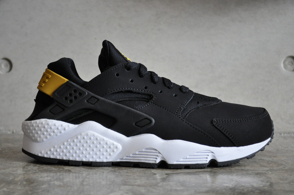 Nike Huarache Black Yellow White